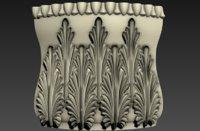 decoration ornamental wall 3D model