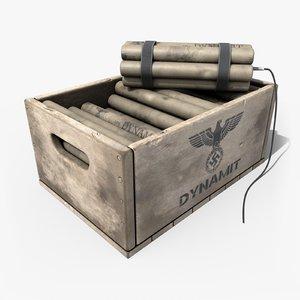 box dynamites 3D