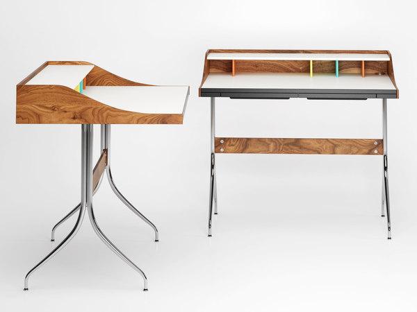 nelson swag leg desk 3D