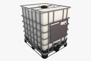 3D model intermediate bulk container