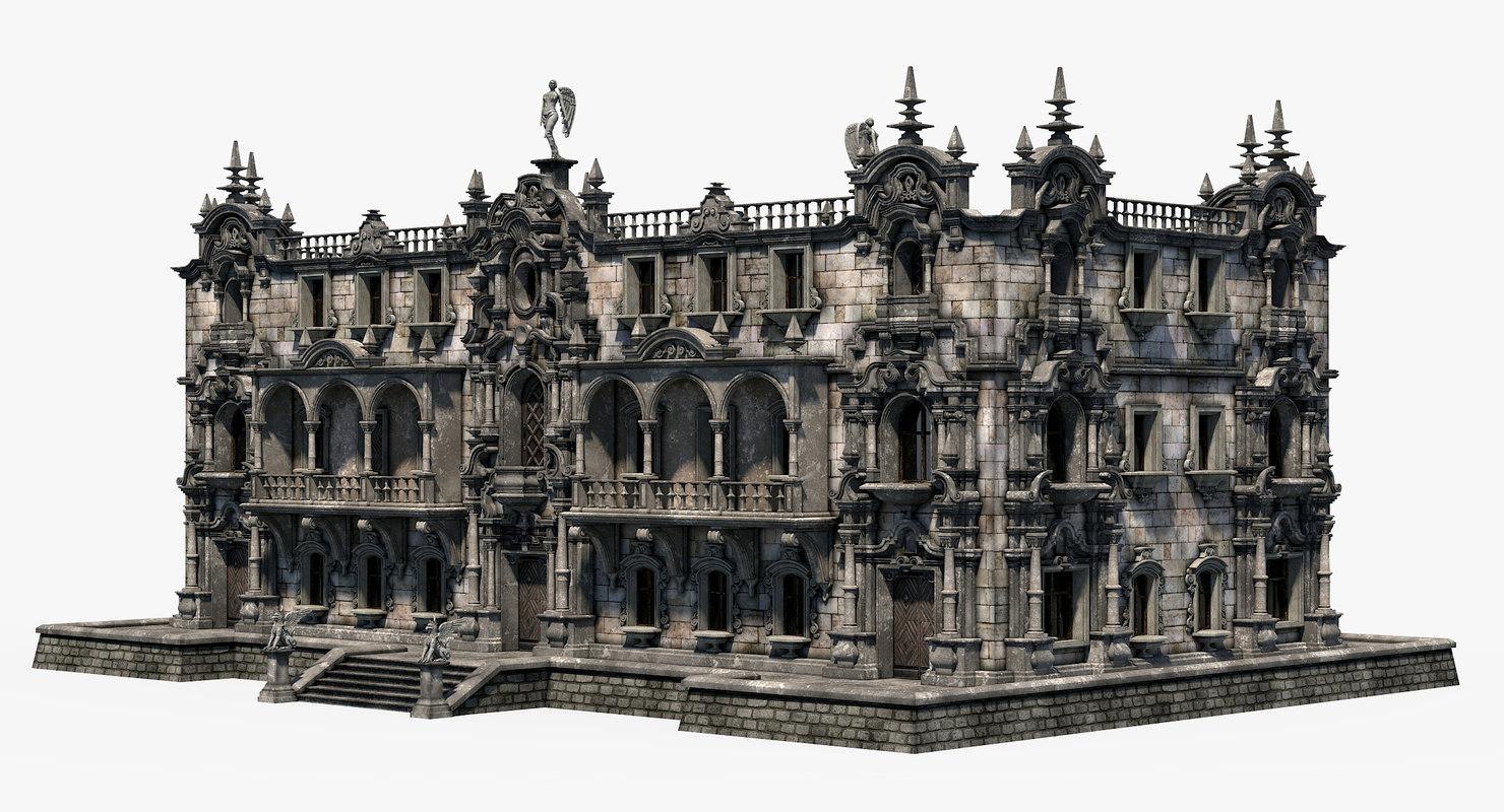 3D grim house build