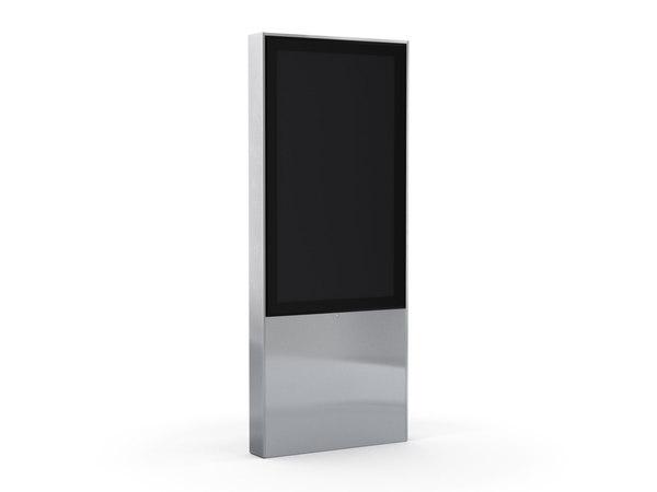 3D monitorstele burri model