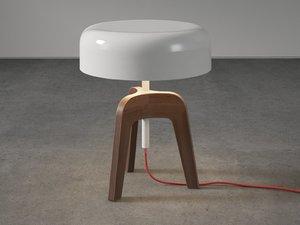 pileo table lamp 3D model
