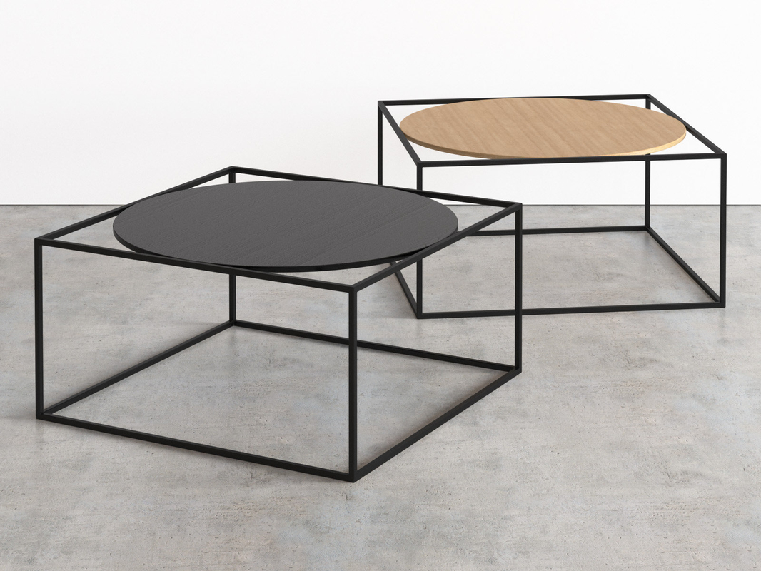 g3 coffee tables 3D model