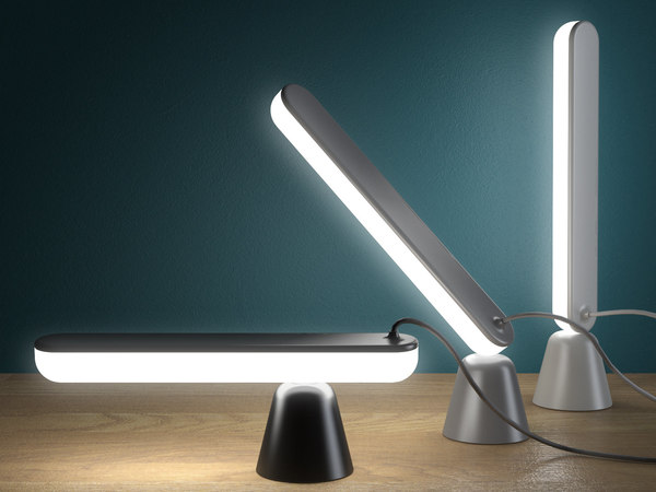 3D acrobat table lamp