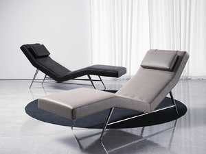 fred armless chaise model