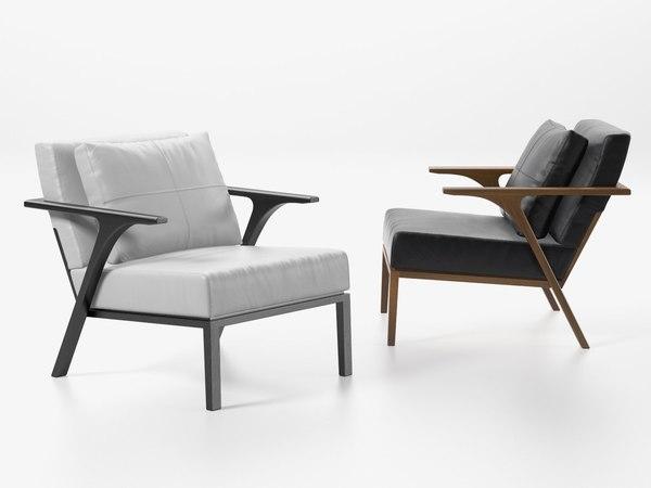 3D stm armchair