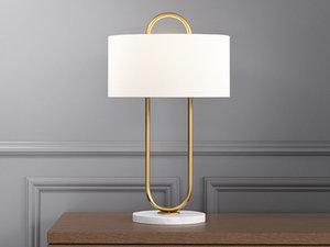 3D warner table lamp
