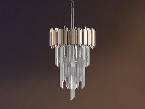 3D mystique chandelier