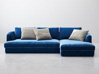 barrett sofa comp01 3D model