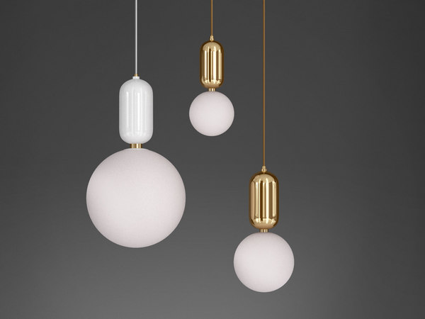 aballs pendant lights 3D model