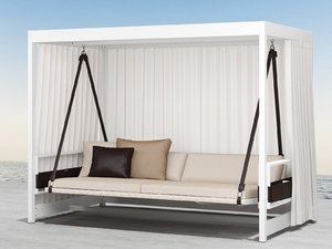 3D city camp garden swing