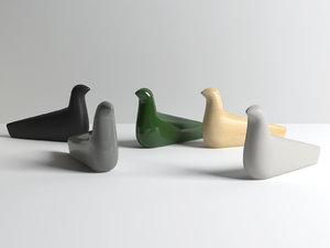 l oiseau figure 3D model