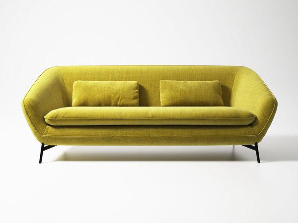 flow sofa 212 3D model