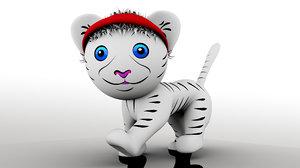 tricky tiger 3D