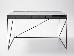 3D caro writing table