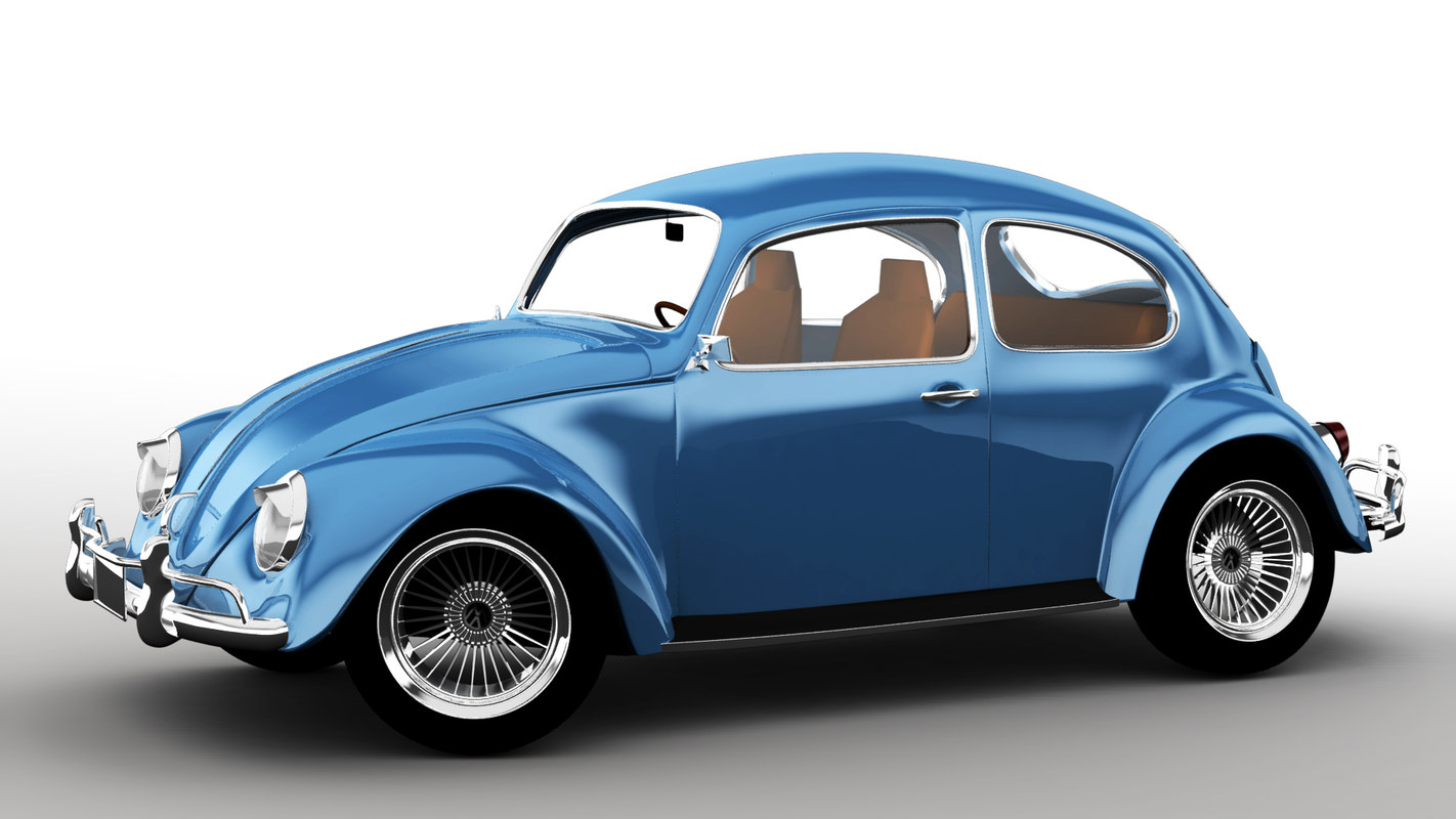 antique car 3D