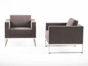 3D ds-160 armchair model