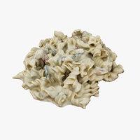 noodle salad 3D model