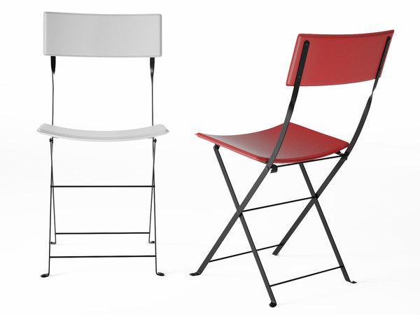 sellier chair 3D model