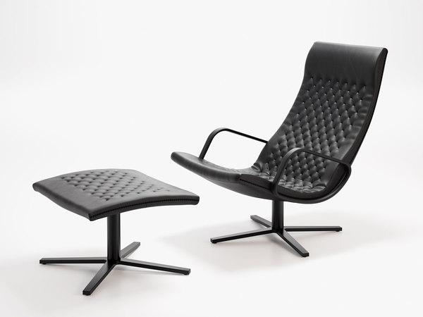 3D ds-51 26 armchair 05