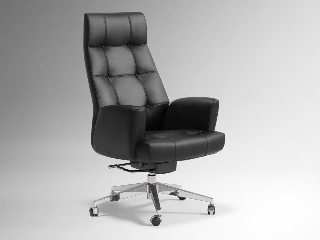 ds-257 office chair 3D model
