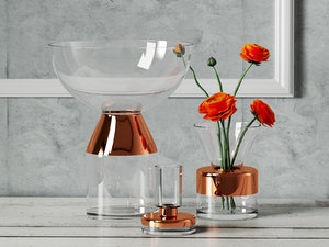 3D tank vases