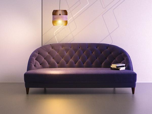 3D model dalila sofa 210