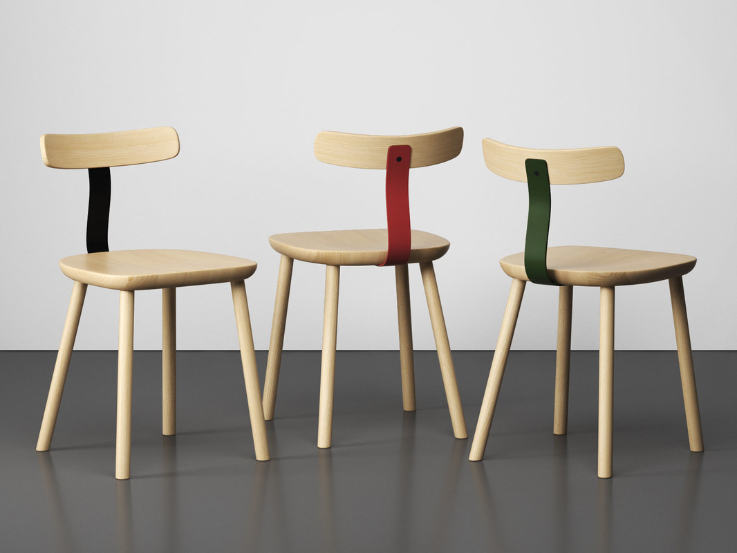 t1 chair 3D model