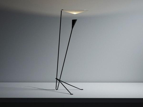 3D floor lamp b211