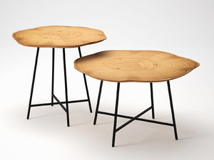 alburni occasional coffee tables 3D