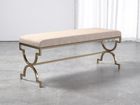3D cream double bench model