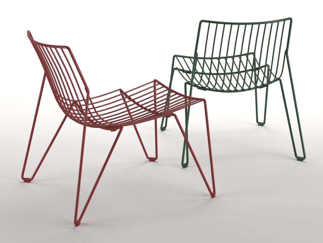 3D tio easy chair