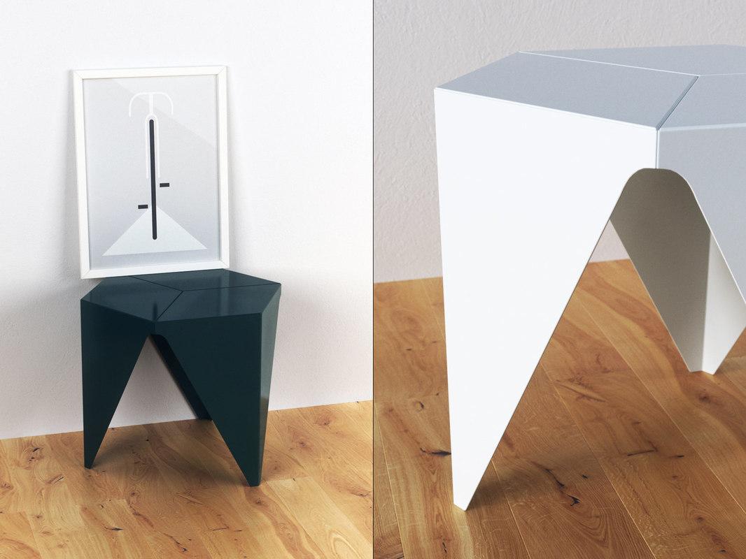 3D prismatic table