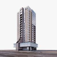 modern building model