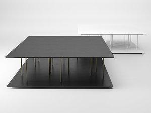 3D allegorie coffee table