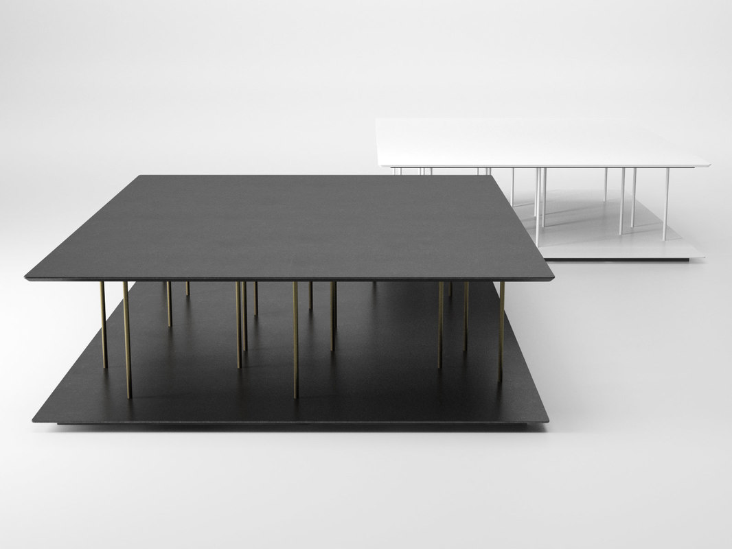3D allegorie coffee table