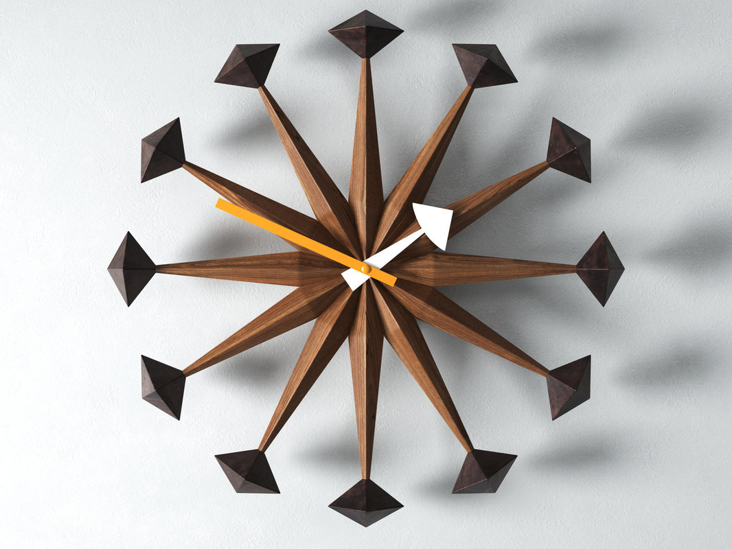 3D clock nelson model