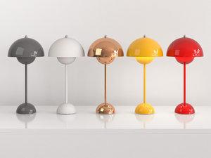 3D flowerpot vp3 table lamp