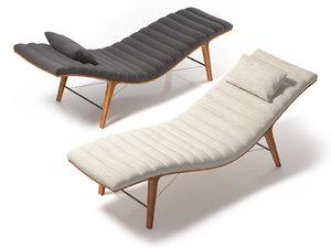 3D model listen chaise 4873