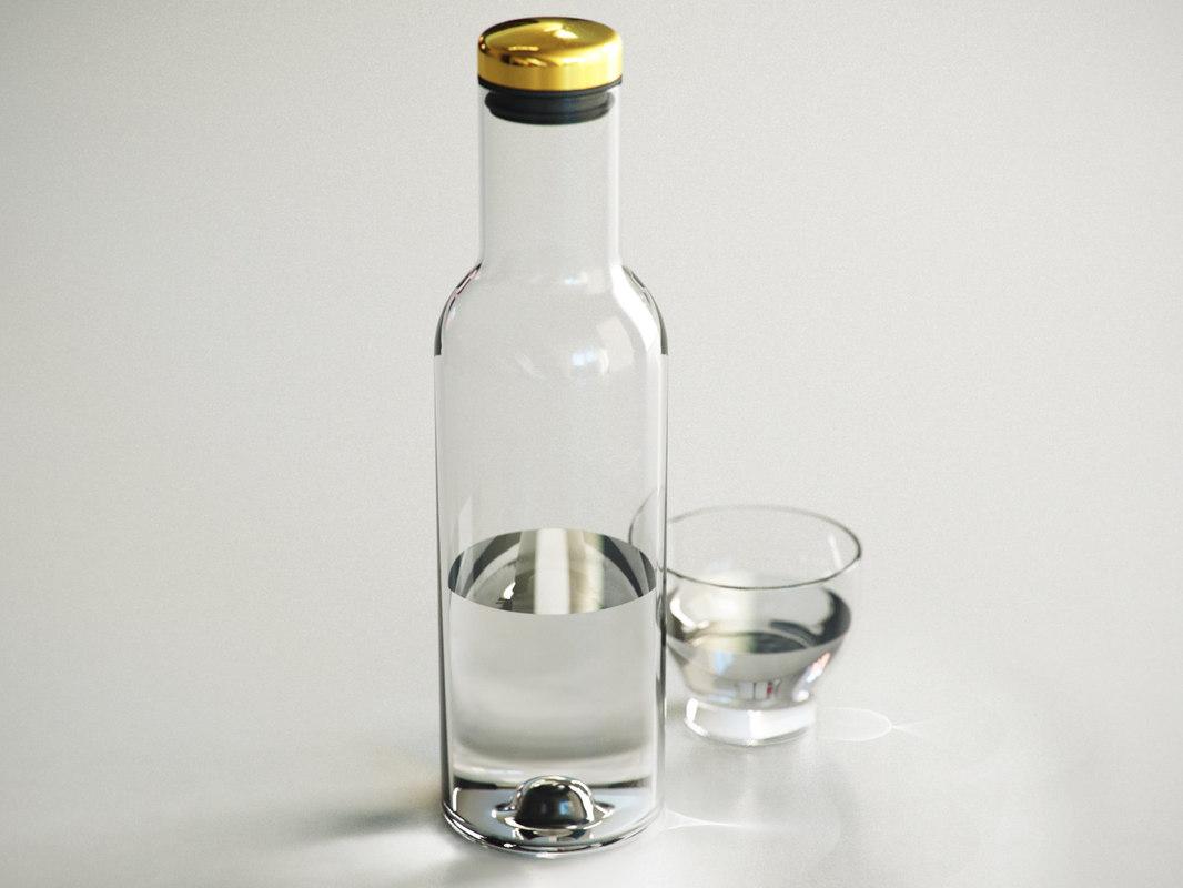 bottle carafe model