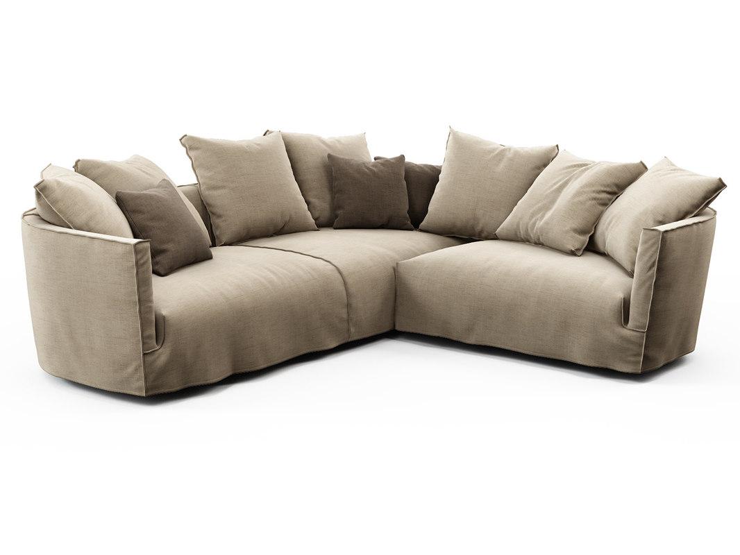 3D lov trend corner sofa
