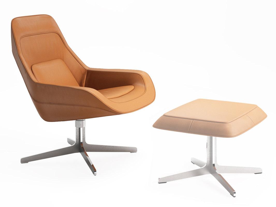 3D ds-144 01 armchair