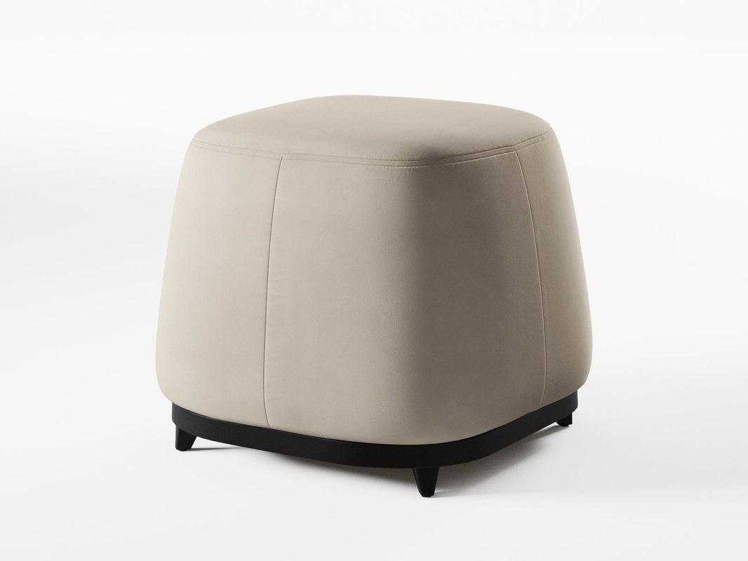 neel ottoman 3D model