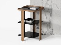 3D model postmoderne bedside table