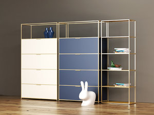 3D dita unit shelving model