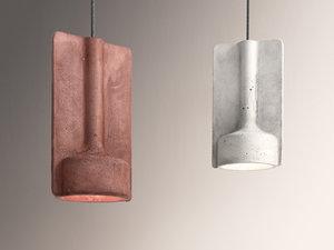 3D model mold suspended ceiling light
