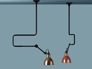 lampe gras no°312 pendant 3D model