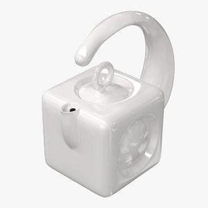 teapot cube 3D model
