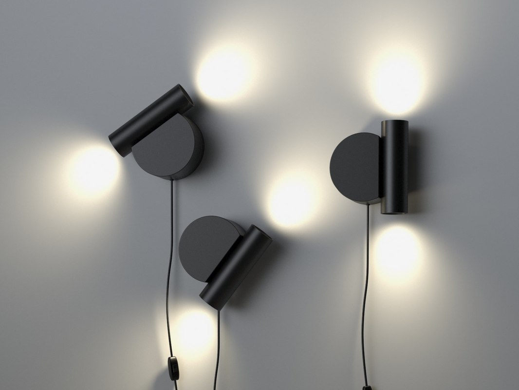 mani wall lamp 3D